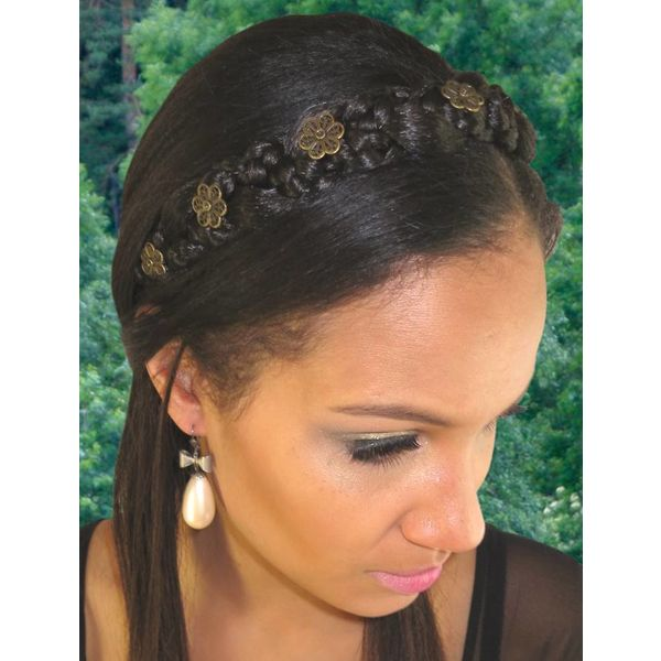 Braided Headband Snow White M - color 3