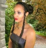 Ringlets, clip-in single Sissi curls