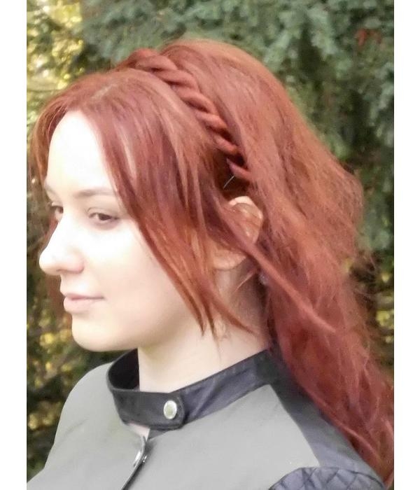 Headband Twist Braid, medium thick braid