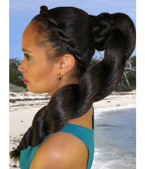 Afro Twist Braid L size, crimped hair