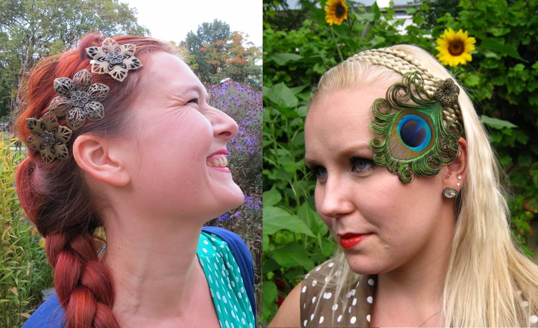Handmade Hair Jewelry