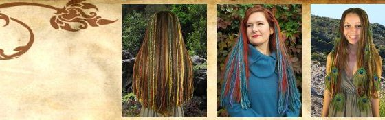 Clip-In Dreadlocks  Dread Falls