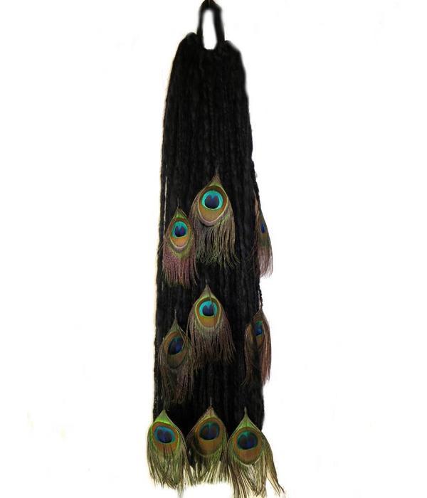 Black Peacock Dreads