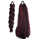 Black Wine Red Dreadlocks