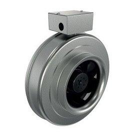 Fantech Fantech FGC Inline Centrifugal Duct Fan, Standard Motor, Metal Housing, W/Cord