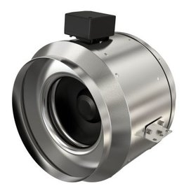 Fantech Fantech FKD Series Inline Mixed Flow Duct Fan, Standard Motor(115V), Metal Housing, W/Cord