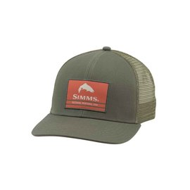 Simms Fishing Simms Original Patch Trucker, Foliage