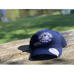 Patagonia Patagonia Gates Logo Small Fitz Roy Trucker Hat, Navy