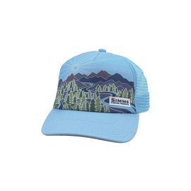 Simms Fishing Simms Womens Adventure Trucker - Sky Blue