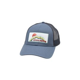 Simms Fishing Simms Small Fit Foam Patch Trucker, Storm
