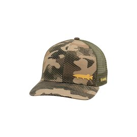 Simms Fishing Simms Payoff Trucker, Hex Camo Timber
