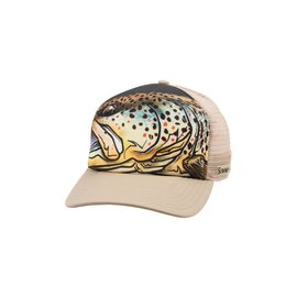Simms Fishing Simms Artist Series Five Panel Trucker, Dune