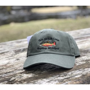 Orvis Orvis Brook Trout logo Twill Hat Cap