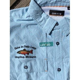 Orvis Orvis Gates Lodge Logo Open Air Caster Shirt