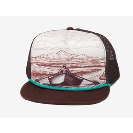 Fishpond Fishpond Drifter Foam Trucker Hat - Brown/Cream