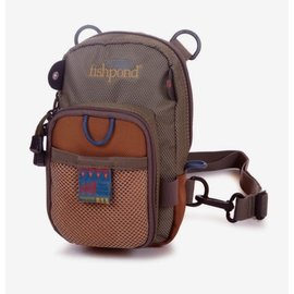Fishpond Fishpond San Juan Vertical Chest Pack - Sand/Saddle Brown