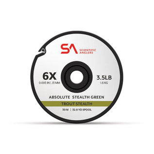 Scientific Anglers SA Absolute Stealth Green Tippet