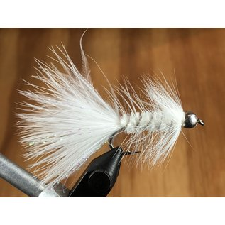 Woolly Bugger - White
