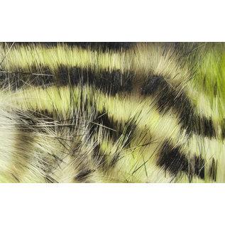 Hareline Dubbin Black Barred Groovy Strips
