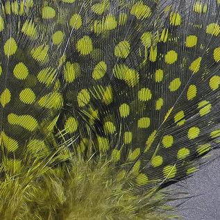 Hareline Dubbin Strung Guinea Feathers