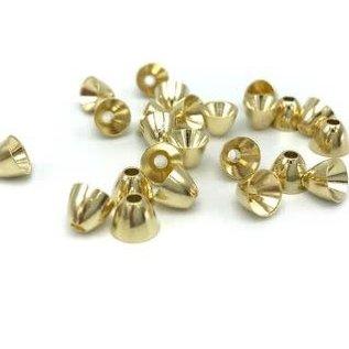 Hareline Dubbin Hareline Brass Cone Heads - Gold