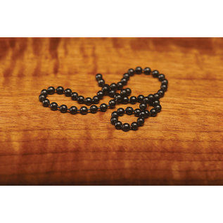 Hareline Dubbin Hareline Bead Chain Eyes - Black