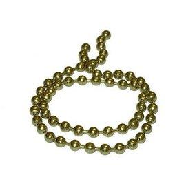 Hareline Dubbin Hareline Bead Chain Eyes - Gold