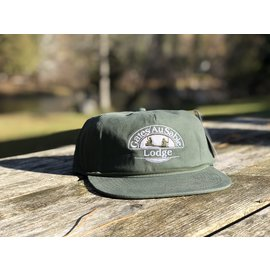 Gates Logo Throwback Ranger Cap - Moss