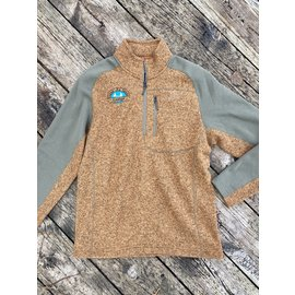 Simms Fishing Simms Gates Logo Rivershed Sweater 1/4 Zip
