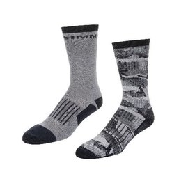 Simms Fishing Simms Men's Merino Midweight Hiker Sock 2-pack