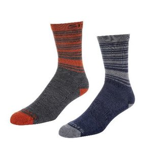 Simms Fishing Simms Men's Merino Lightweight Hiker Sock 2-pack