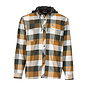 Simms Fishing Simms Coldweather Hoody - Dark Bronze Plaid