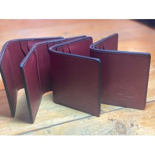 Sidnaw Company Sidnaw Bifold Wallet Oxblood
