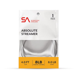 Scientific Anglers SA Absolute Streamer Leader - 4ft