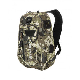 Simms Fishing Simms Dry Creek Z Sling Pack - 15L Riparian Camo One Size