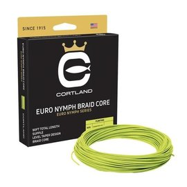 Cortland Euro Nymph Braid Core Fly Line - Hi Vis