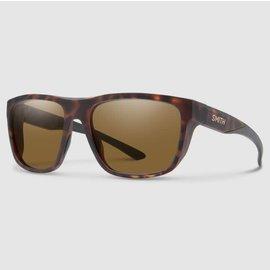 Smith Barra Sunglasses - Matte Tortoise Frame, Polarized Brown