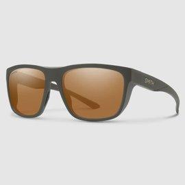 Smith Barra Sunglasses - Matte Gravy Frame, Chromapop Polarized Copper Lens