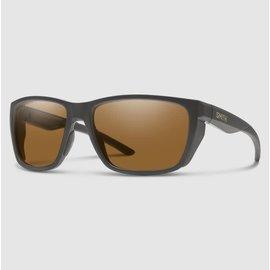 Smith Longfin Sunglasses - Matte Charcoal Frame, Chromapop Polarized Brown Lens
