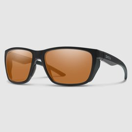 Smith Longfin Sunglasses - Matte Black Frame, ChromaPop Polarized Copper