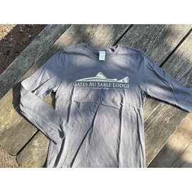 Gates Loge Logo Long Sleeve Tee