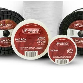 Scientific Anglers SA 20#  Dacron Backing 100 yd - White