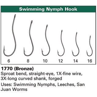 Daiichi Daiichi 1770 Swimming Nymph Hooks