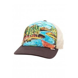 Simms Fishing Simms Dripping Trees Artist Trucker Bark