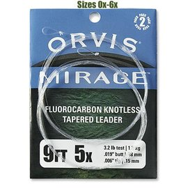 Orvis Mirage Knotless Leader 2 Pack