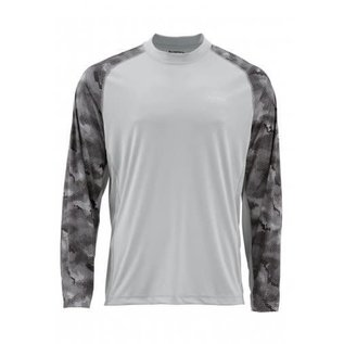 Simms Fishing Simms 2018 SolarFlex LS Crewneck Printed Shirt