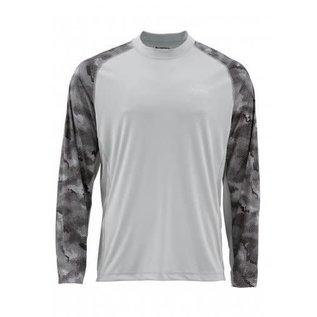 Simms Fishing Simms SolarFlex LS Crewneck Printed Shirt