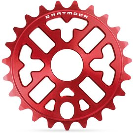 Dartmoor Trance sprocket, 25t, red