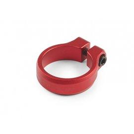Seat clamp Loop Bolt diam. 34,9mm, red anod.