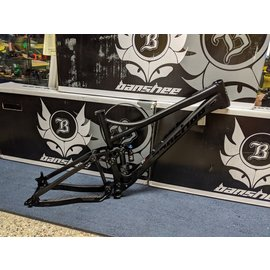 Banshee Rune V3 Large Stealh Black Fox Float X2 Performance Elite Shock and Headset 148mm x 12mm Dropout